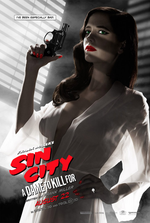 Sin City 2 λογοκριμένο ποστερ