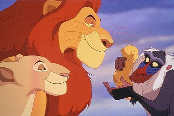 Η αντίδραση ενός παιδιού στο φινάλε του Lion King